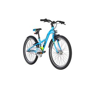 s'cool XXlite 24 3-S - Bicicletas para niños - alloy azul